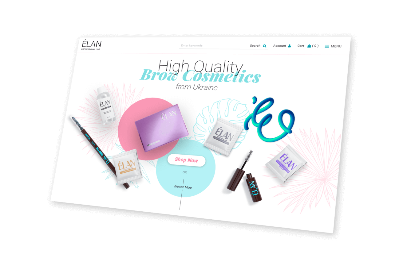 ELAN Website Screenshot