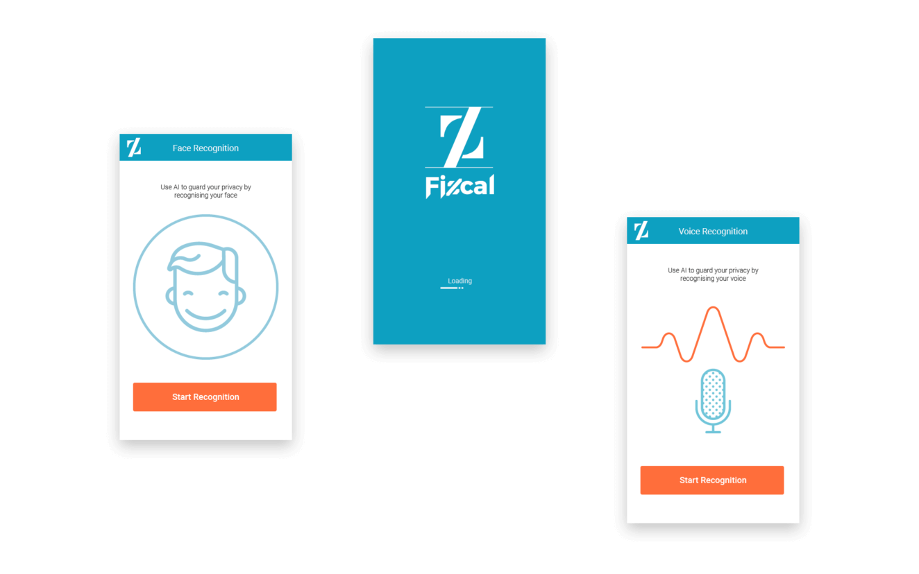 Fizcal Website Screenshot